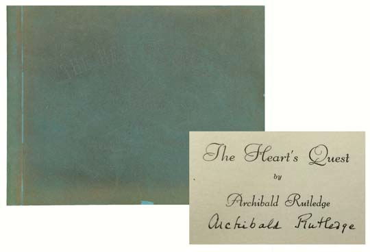 daiad fine books: Heart's Quest
