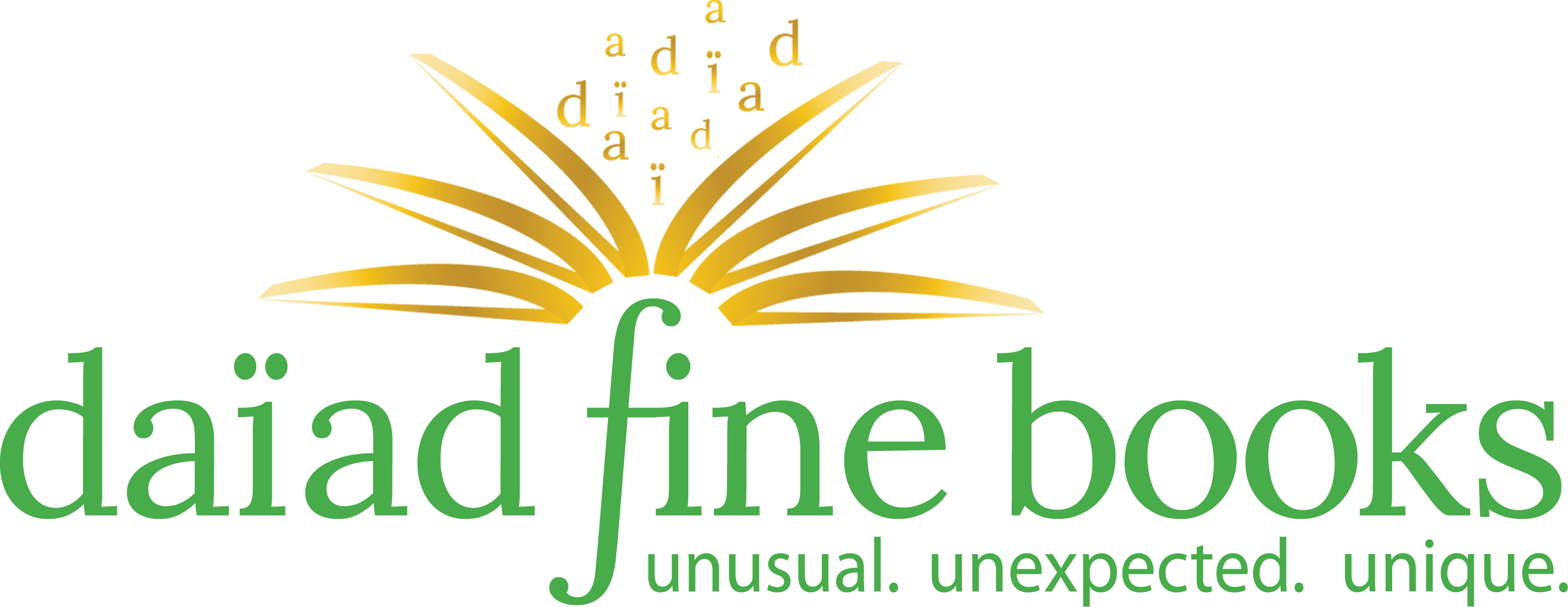 daiad fine books: unusual. unexpected. unique.